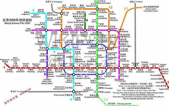 北京交通-地铁规划 - 山高人为峰 - 山高人为峰